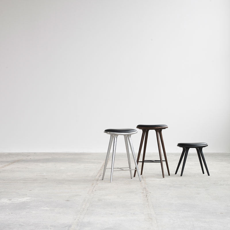 High Stool | Recycled aluminium | 69 cm