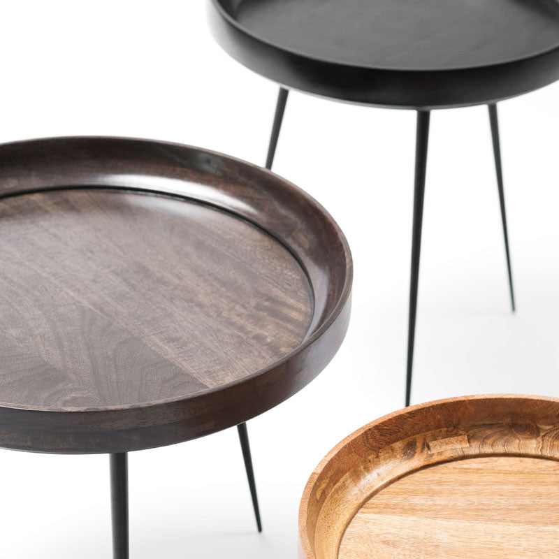 Bowl Table | L Black