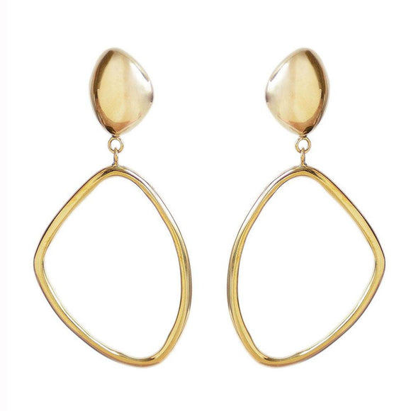 J-Large Drop Hoops