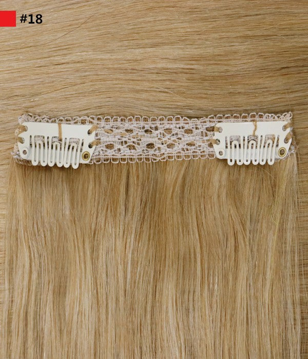 "Eartha 160G 18"" Classic Clip In Remy Human Hair Extensions"