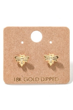 The Bumble Bee Earrings