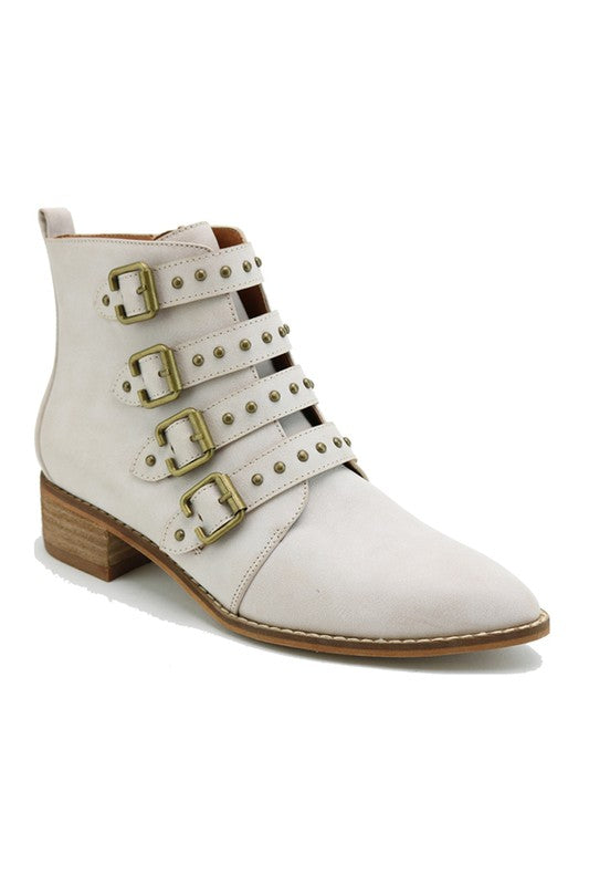 Nelson Buckle Bootie