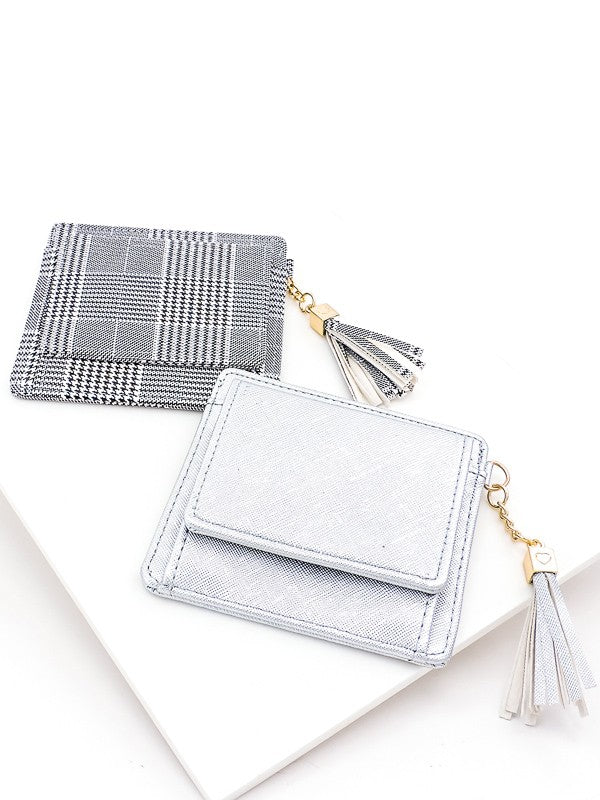 On The Run Tassel Cardholder