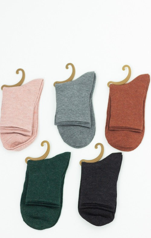 Part Of Your Crew Socks (Multiple Colors)