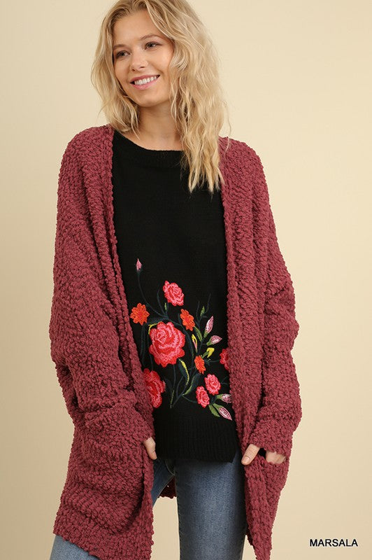 Raspberry Jam Sweater
