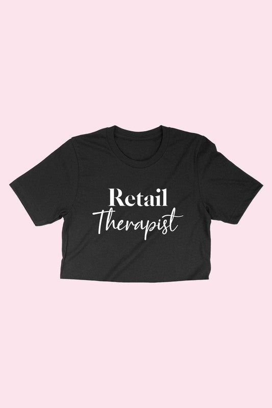 Retail Therapist Graphic Tee