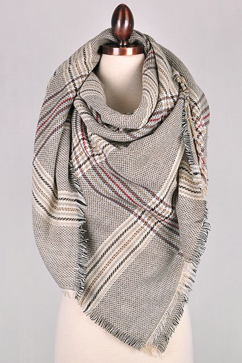 Road Less Traveled Blanket Scarf