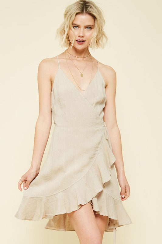 Sand Dollar Wrap Dress