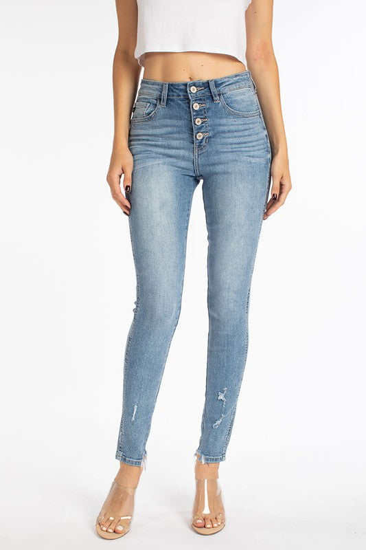 Seeing Double Skinny Denim