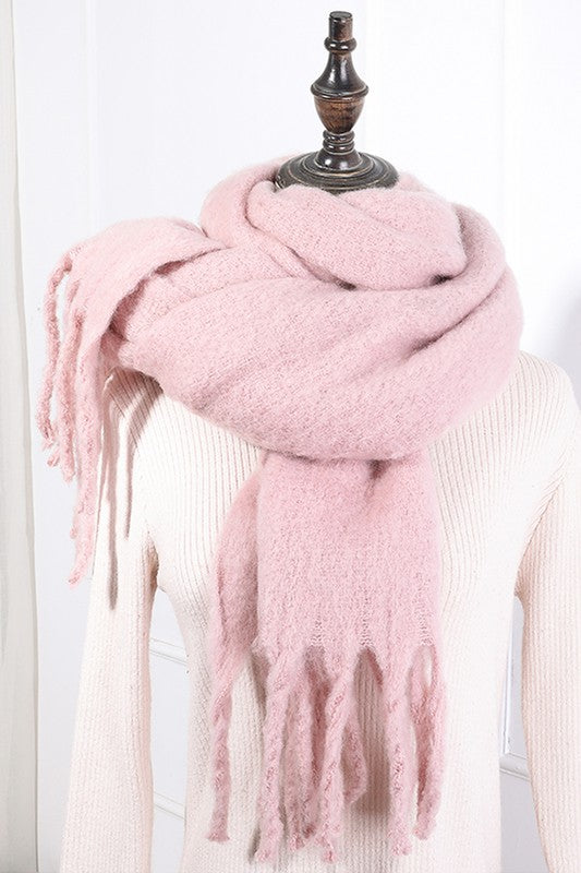 Simple Things Tassel Scarf