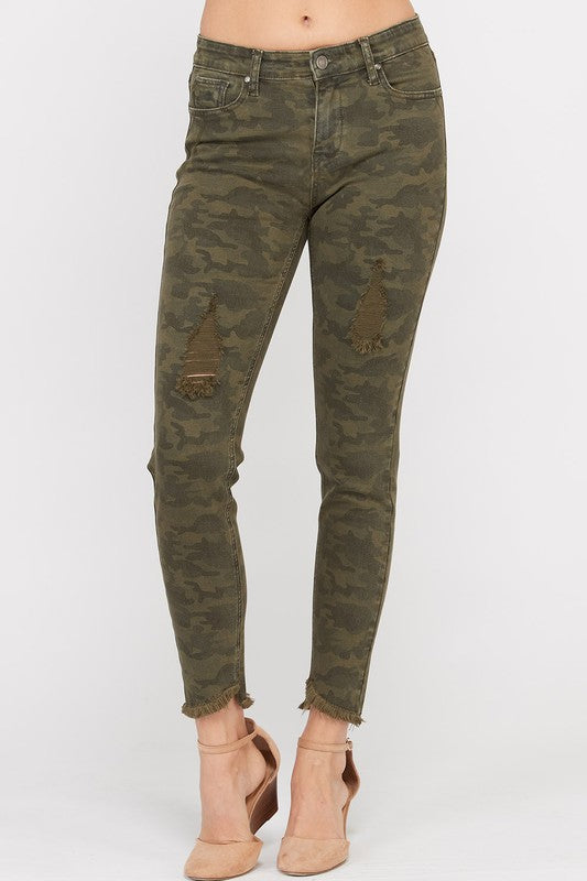 Stand My Ground Camo Denim