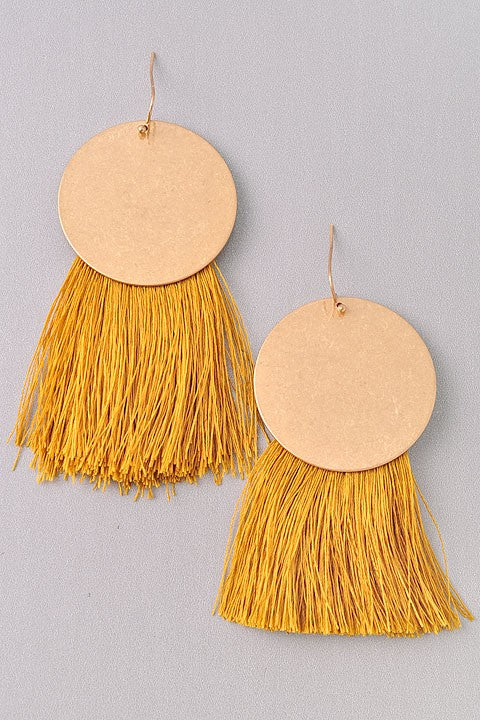 Stand Out Fringe Earrings