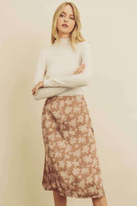 Sweet Magnolia Midi Skirt