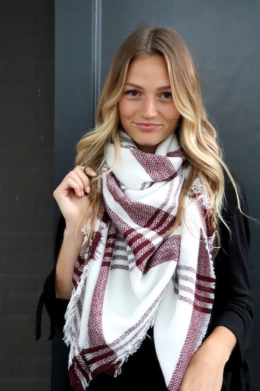 Thanks + Giving Blanket Scarf