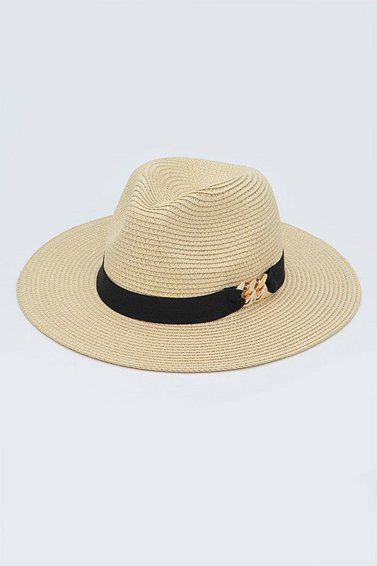 The Hamptons Straw Fedora