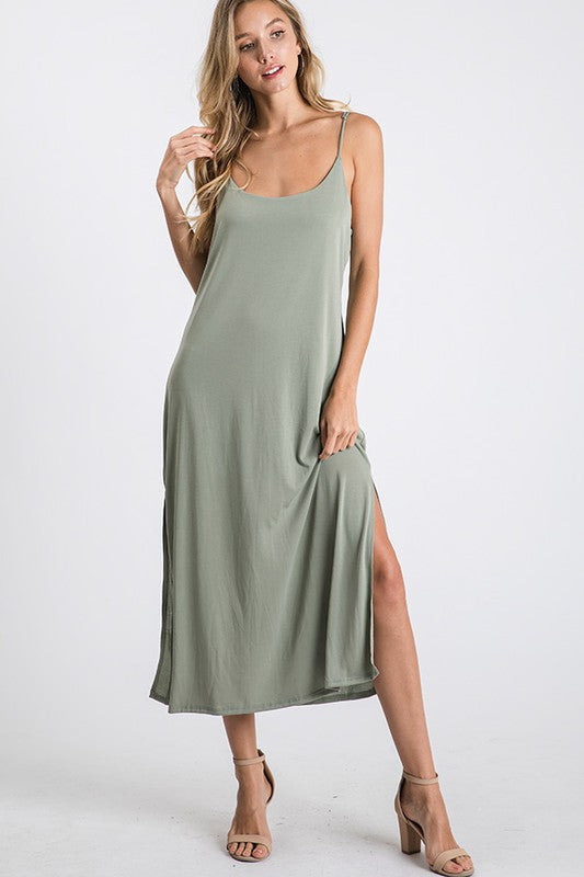 The Mint Julep Slip Dress