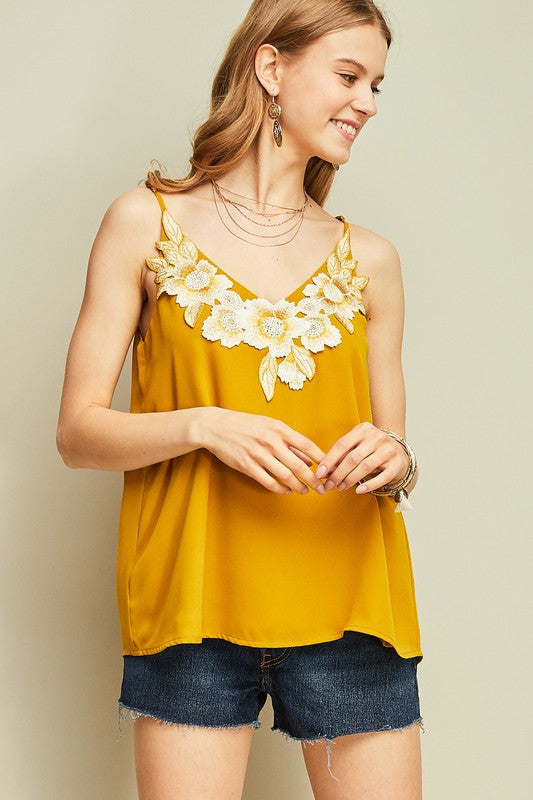 The Golden Flower Top