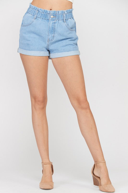 The Paperboy Denim Shorts