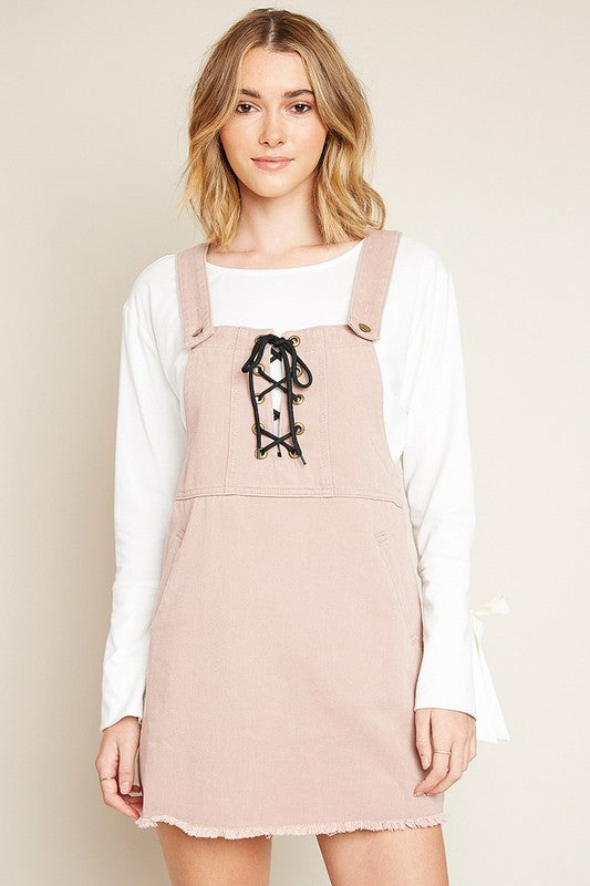 The Pink Ladies Overall Dress