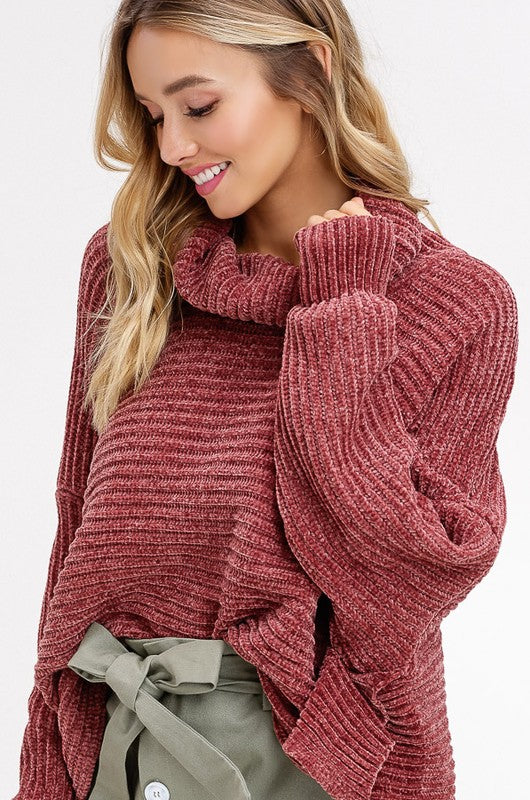 The Ripple Effect Turtleneck Sweater