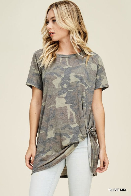 Twisted Hunter Camo Top