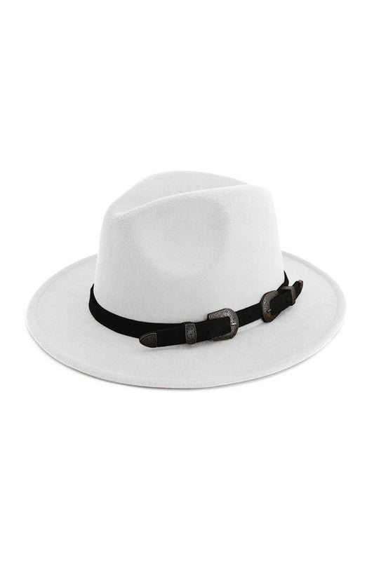 Two Buckle Panama Hat