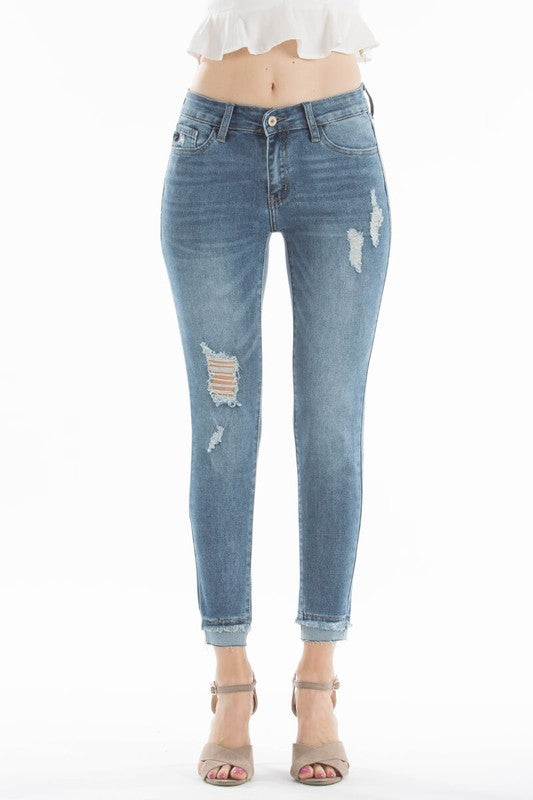 Walk Alone Skinny Denim