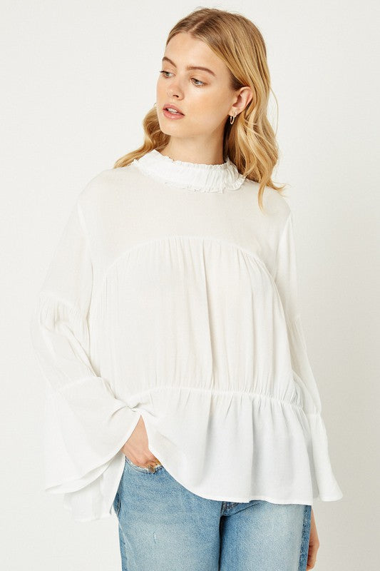 Washington Bell Sleeve Blouse