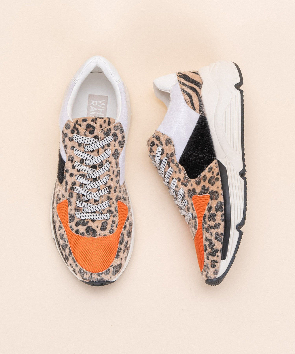 Wild Willow Leopard Platform Sneakers