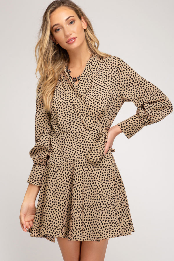 Wild By Nature Wrap Dress