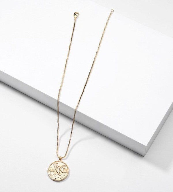 Your A Treasure Gold Coin Necklace