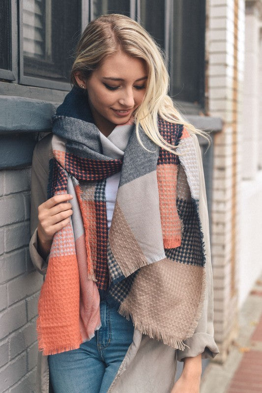 Orange You Glad Blanket Scarf