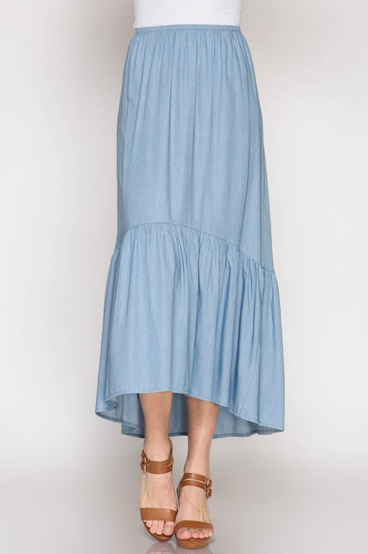 The Bluest Sky Skirt