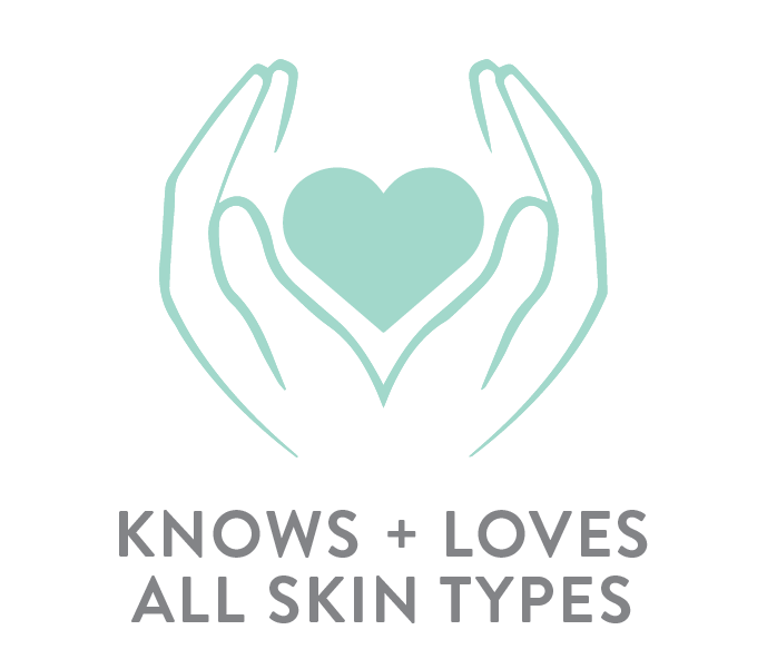 Knows + Loves all skin types