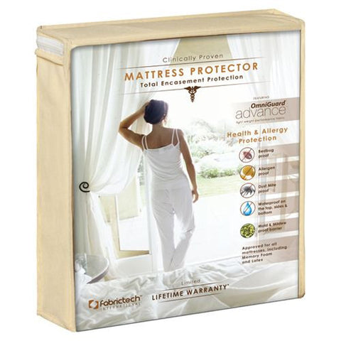 Purecare® OmniGuard Advance Total Encasement Mattress Protector (8-15