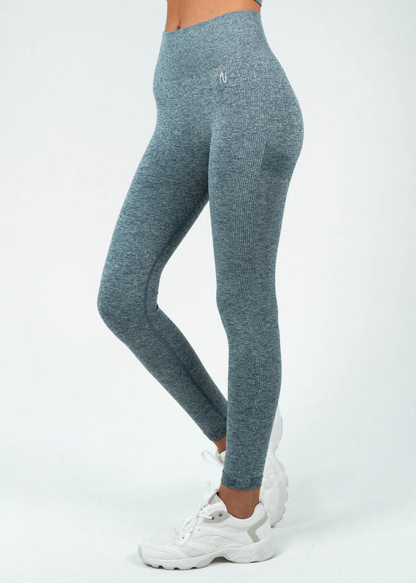 Full Length Leggings | Ambition Sky Blue
