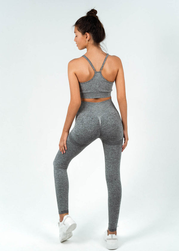 Seamless Full Length Leggings | Ambition Moon