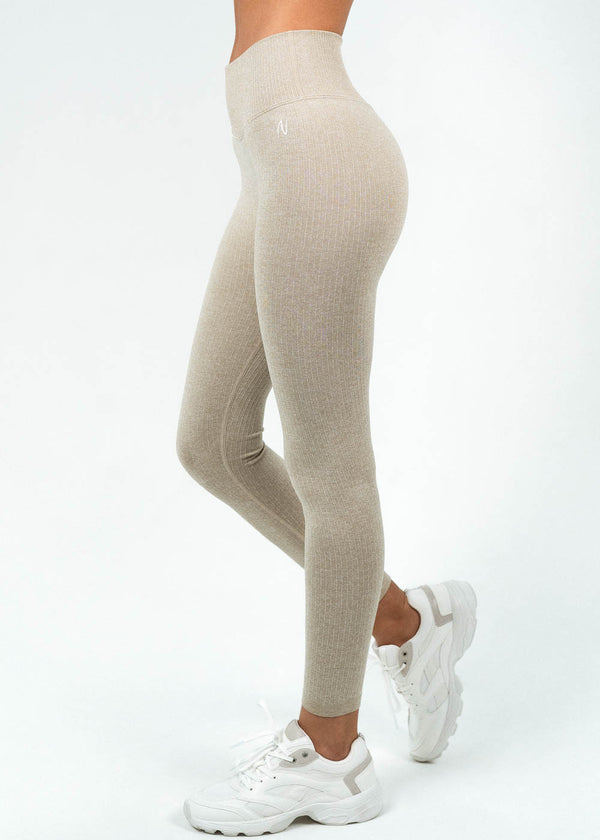 Ribbed Full Length Leggings