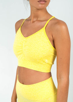 ruched sports top