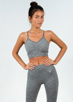 Seamless Ruched Sports Top