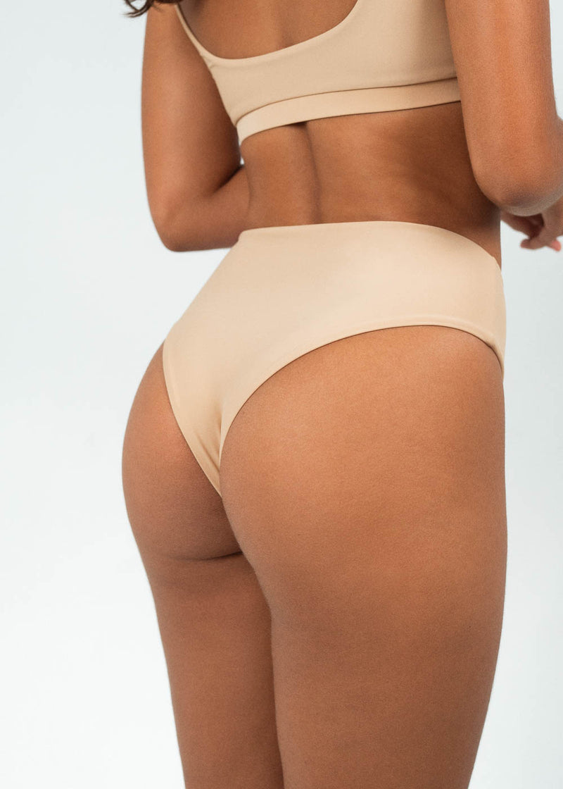 high waisted bikini bottoms