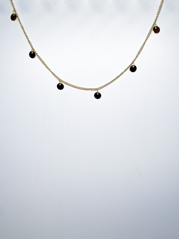 B.b Lila - Spaced Drop Choker
