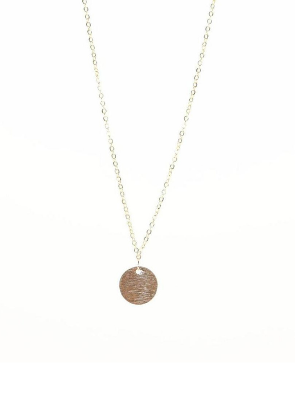 B.b Lila - Poppy Disc Necklace
