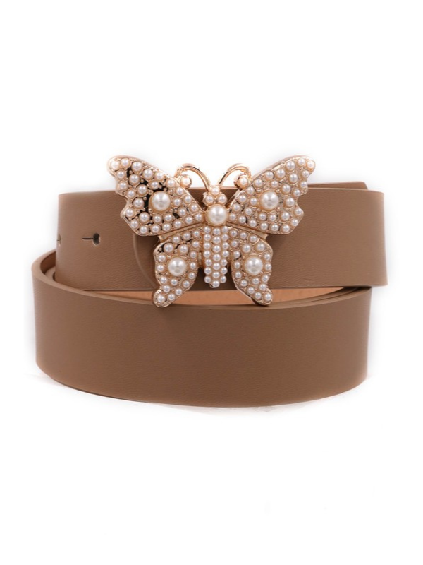 Pearl Butterfly - Brown