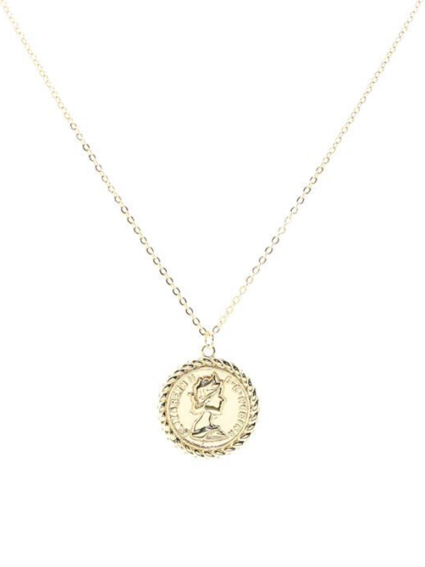 B.b Lila - Queen Coin Necklace