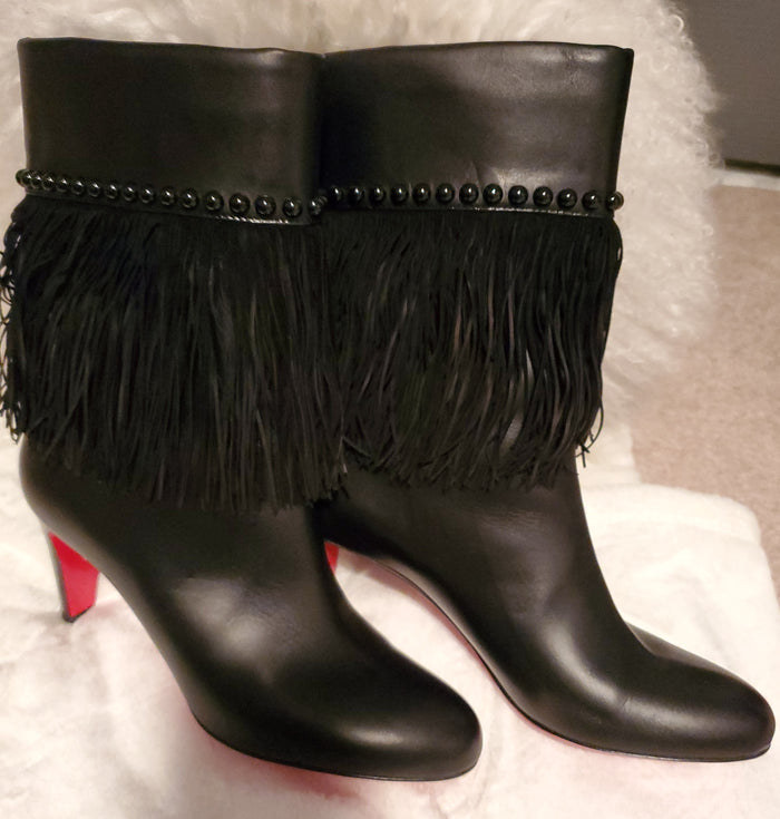 Louboutin with Fringes