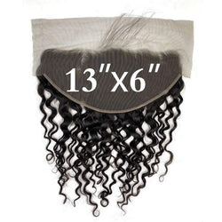 13x6 Lace Frontal Deep Wave