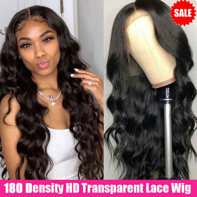 180 Density Body Wave Lace Front