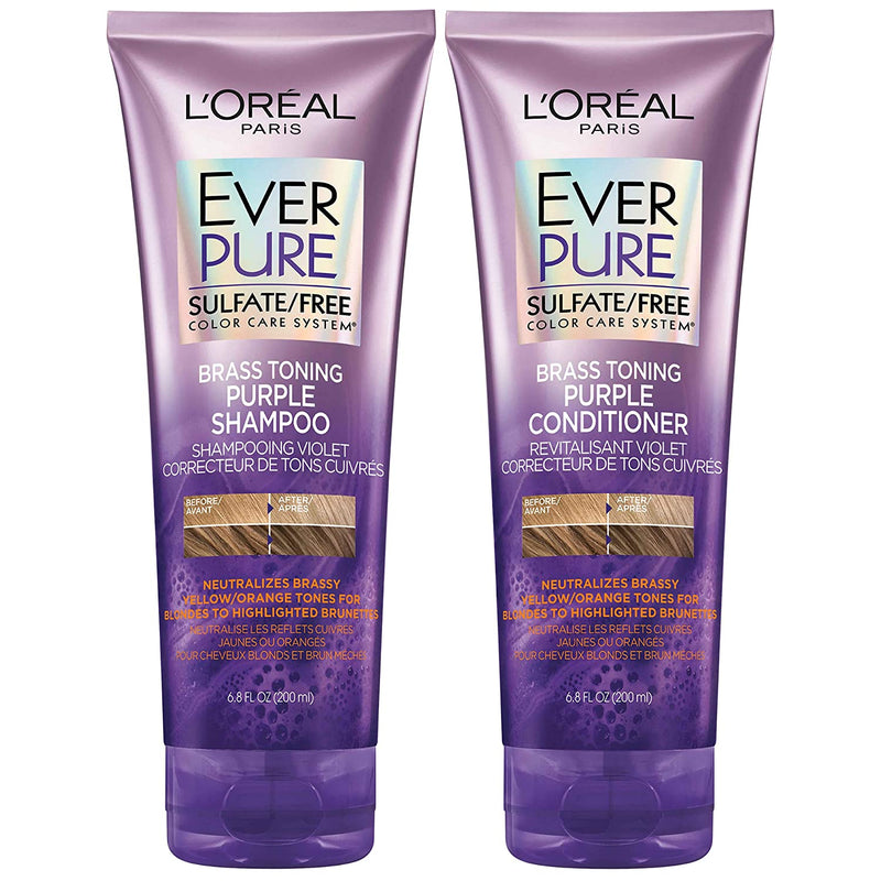 L'Oreal Paris EverPure Sulfate Free Brass Toning Purple