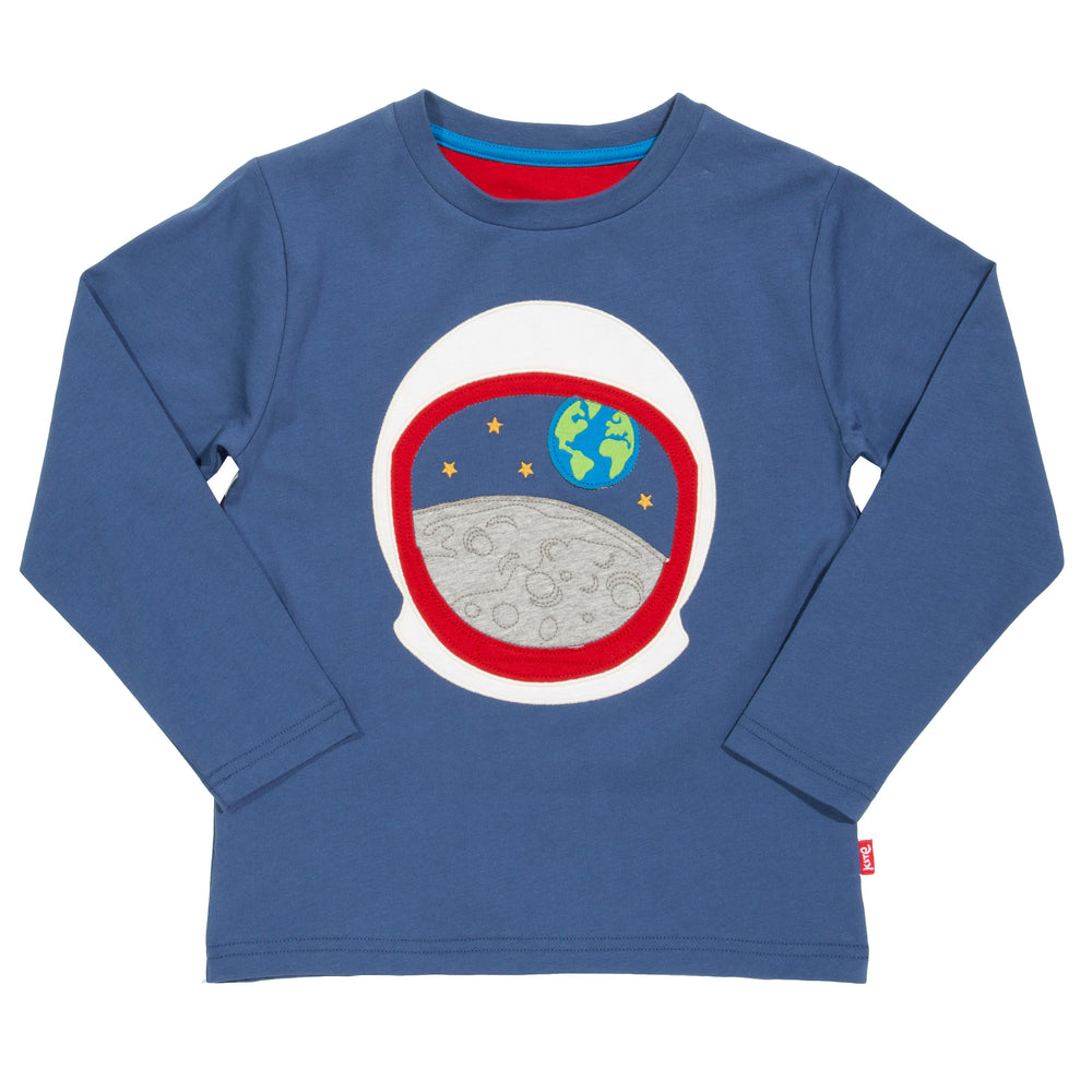 Kite Moon view t-shirt.